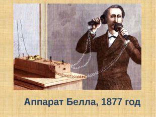 Аппарат Белла, 1877 год