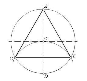 D:\колледж\инжененрная графика, черчение\практич раб граф\три части окр.bmp