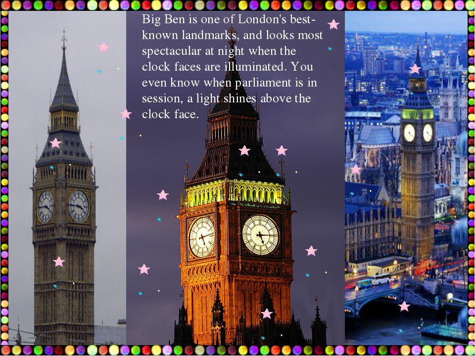 Big Ben is one of London's best-known landmarks, and looks most spectacular a...