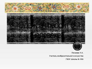 Одежда говорит о человеке Пинаева Н.А. Учитель изобразительного искусства ГБ