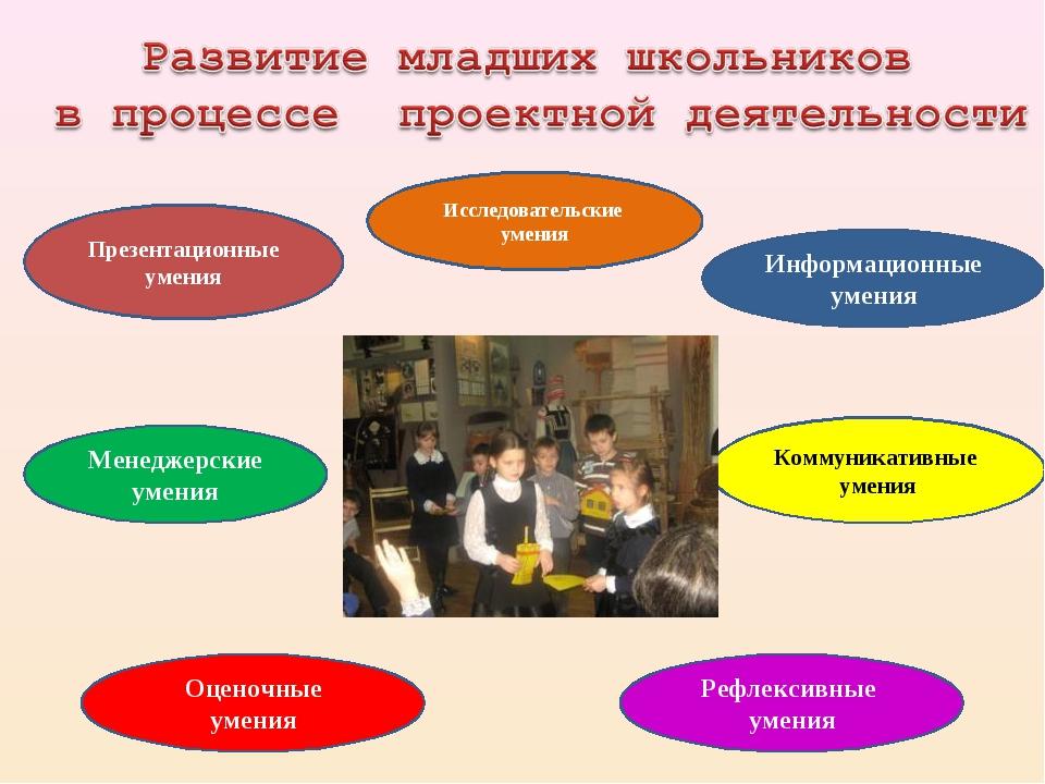 Исследовательские умения Презентационные умения Информационные умения Коммуни...