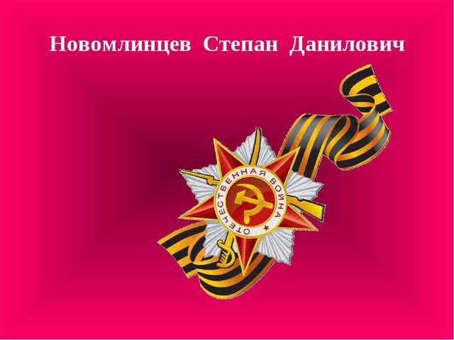 Новомлинцев Степан Данилович