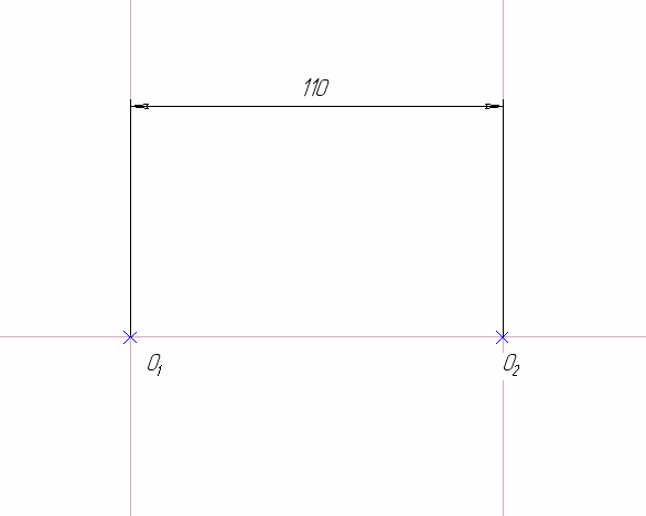 D:\колледж\инжененрная графика, черчение\практич раб граф\Пр 11\1 этап.bmp