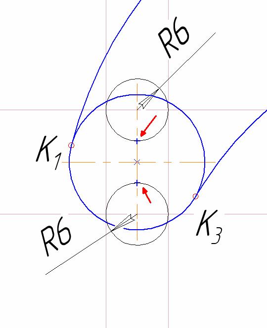 D:\колледж\инжененрная графика, черчение\практич раб граф\Пр 11\17 этап.bmp