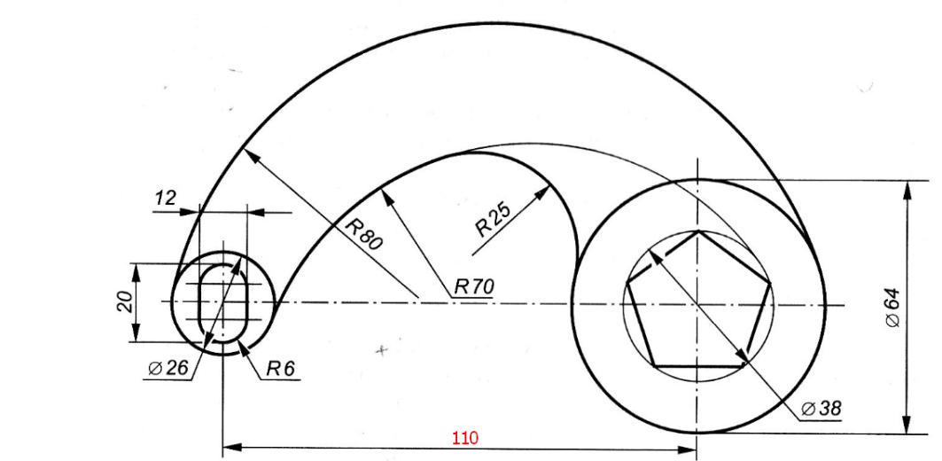 D:\колледж\инжененрная графика, черчение\практич раб граф\Пр 11\задание этап.bmp