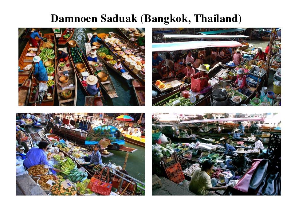 Damnoen Saduak (Bangkok, Thailand)