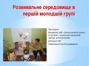 Підготувала Вихователь НВК «Загальноосвітня школа І-ІІІ ступенів – дошкільний