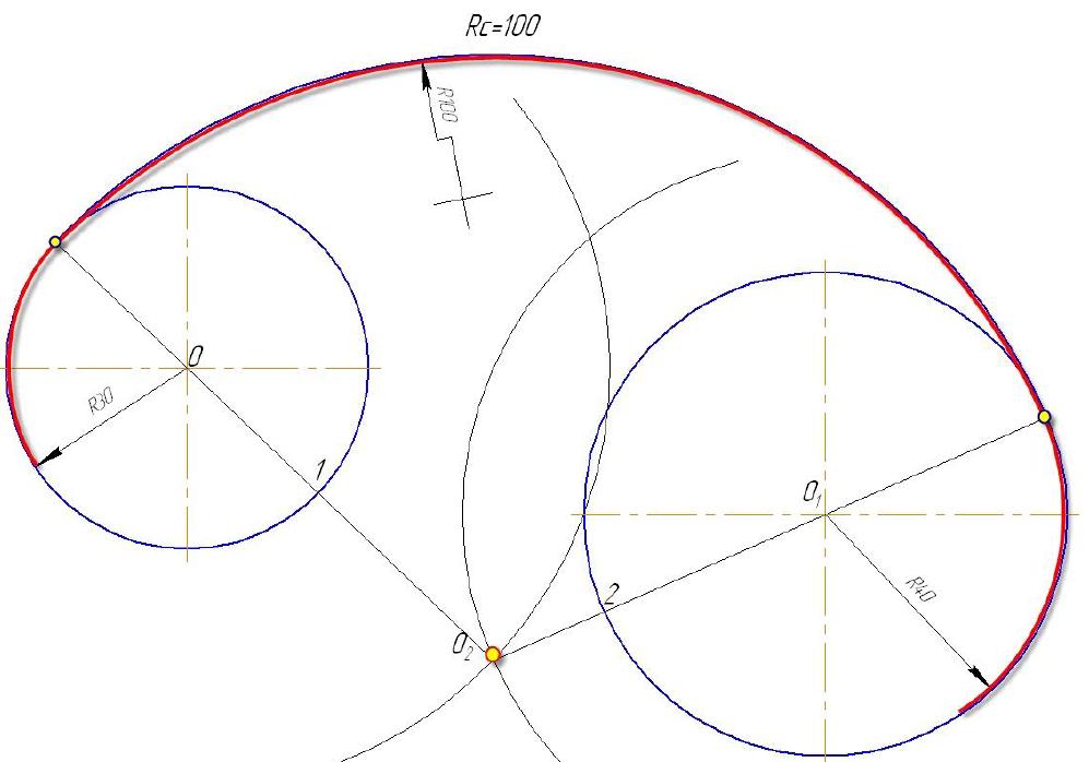 D:\колледж\инжененрная графика, черчение\практич раб граф\Пр 11\сопряжение внутр рад сопр.bmp
