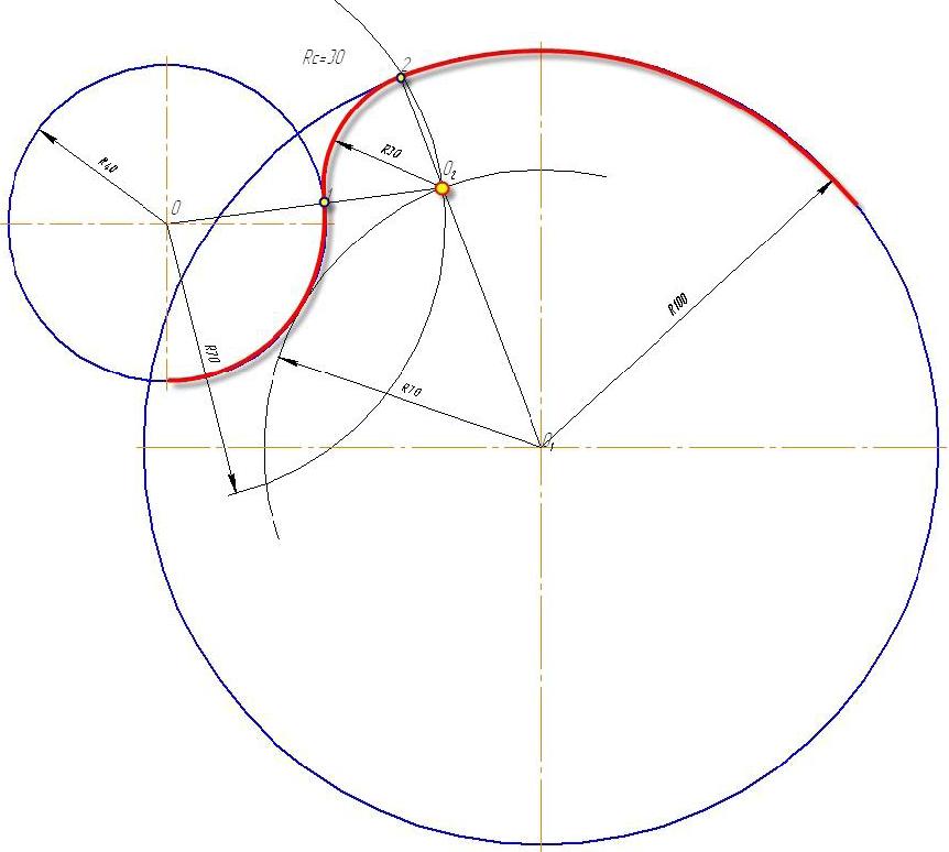 D:\колледж\инжененрная графика, черчение\практич раб граф\Пр 11\сопряжение смеш.bmp