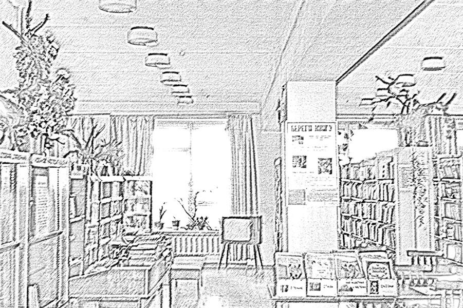 C:\Users\Admin\Desktop\Фото Осиново\Библиотека. Интерьер. Вид на детский абонемент и стол заказо.JPE