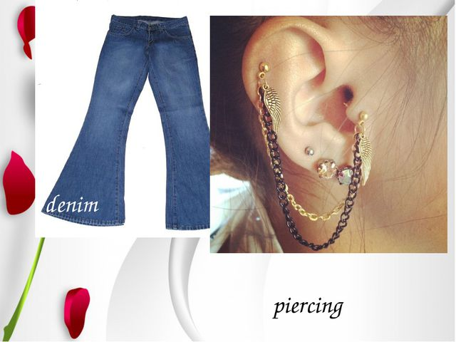 denim piercing