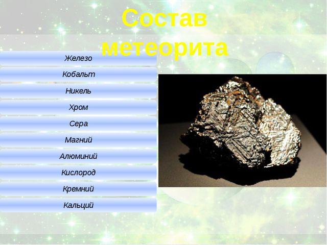 Состав метеорита