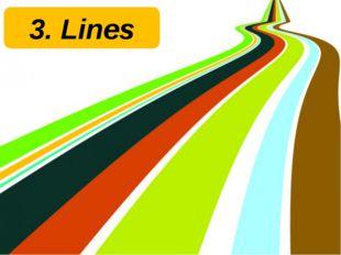 3. Lines Задание для каждой команды на листе. Задача команды собрать с помощь