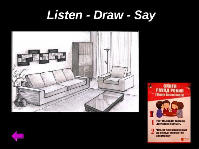 Listen - Draw - Say