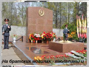 На братских могилах - тюльпаны и розы. Матюшкина А.В. http://nsportal.ru/user