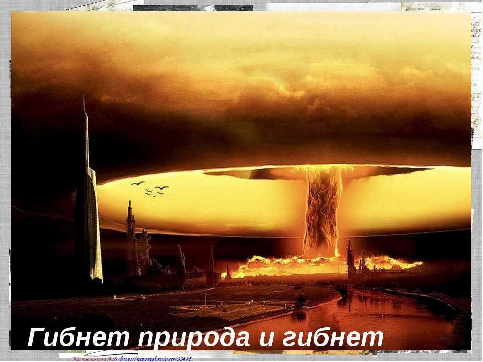 Гибнет природа и гибнет планета, Матюшкина А.В. http://nsportal.ru/user/33485