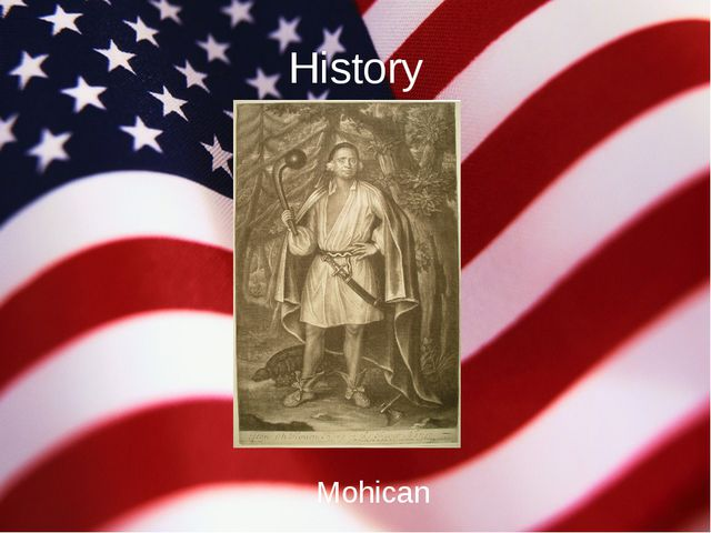 History Mohican