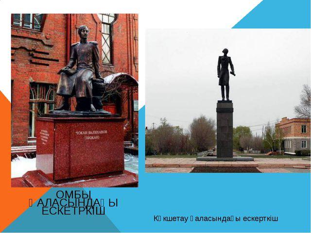 Көкшетау қаласындағы ескерткіш ОМБЫ ҚАЛАСЫНДАҒЫ ЕСКЕТРКІШ