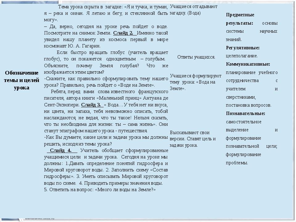 Обозначениетемы и целей урока Темаурока скрыта в загадке: «Я и тучка, и тума...