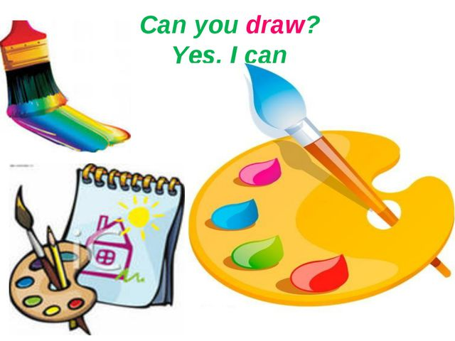 Can you draw? Yes, I can
