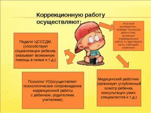 Педагог ЦСССДМ, (способствует социализации ребенка, оказывает возможную помощ