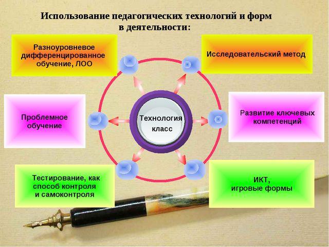 Использование педагогических технологий и форм в деятельности: Исследователь...