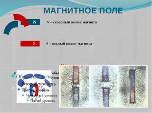 МАГНИТНОЕ ПОЛЕ Магнитное поле представляет собой особый вид материи, отлича