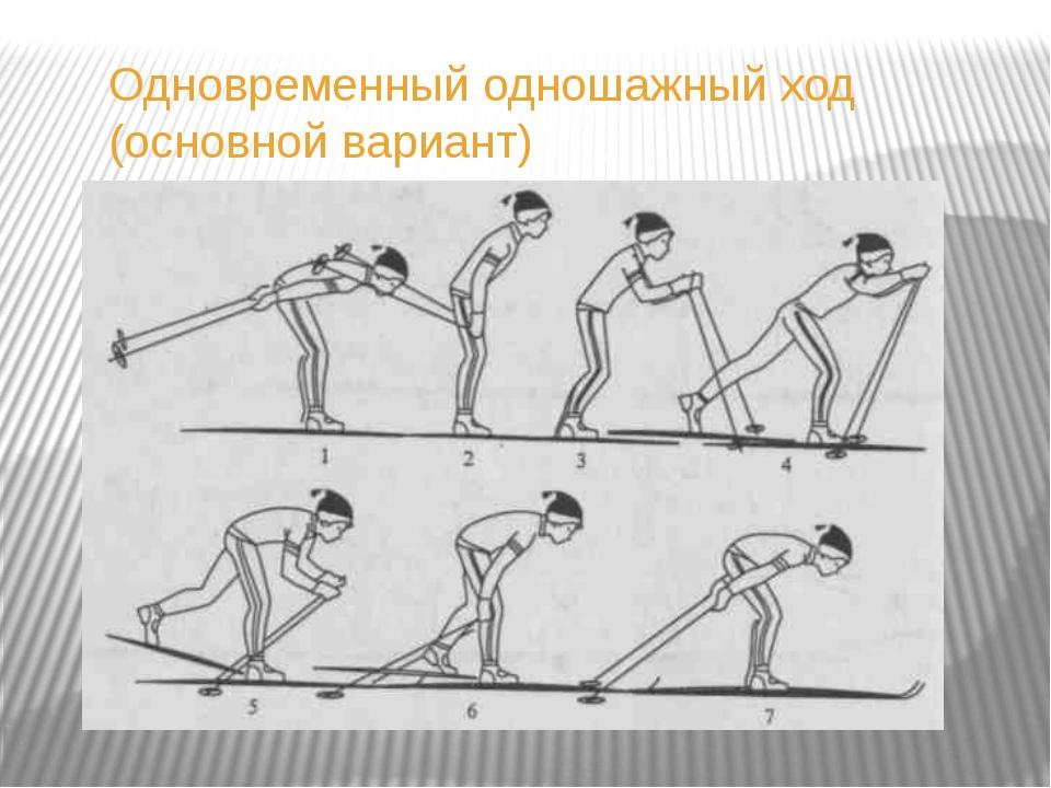 переходы с хода на ход При использовании коньковых ходов также применяются ра...