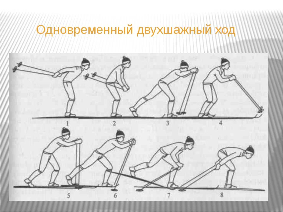 прикладные упражнениях на лыжах