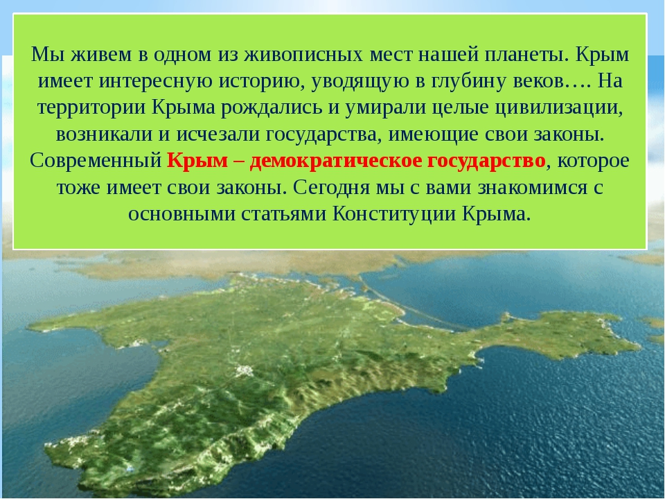 Классный Час Знакомьтесь Крым
