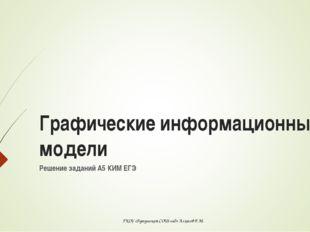 Решение заданий А5 КИМ ЕГЭ Графические информационные модели ГКОУ «Бутушская