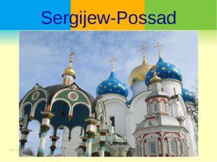 Sergijew-Possad
