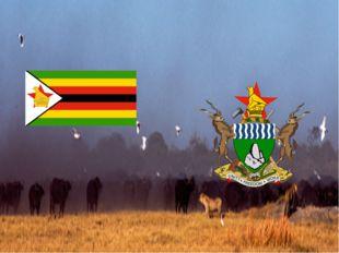 Флаг республики Зимбабве Герб республики Зимбабве