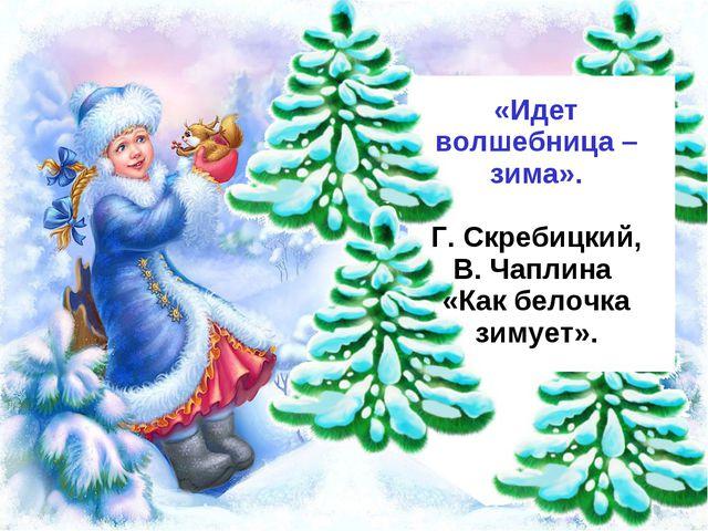 «Идет волшебница – зима». Г. Скребицкий, В. Чаплина «Как белочка зимует».