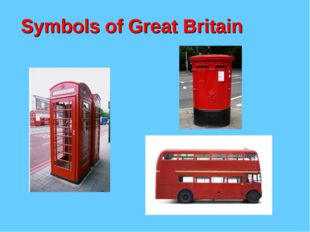 Symbols of Great Britain