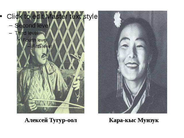 Алексей Тугур-оол Кара-кыс Мунзук