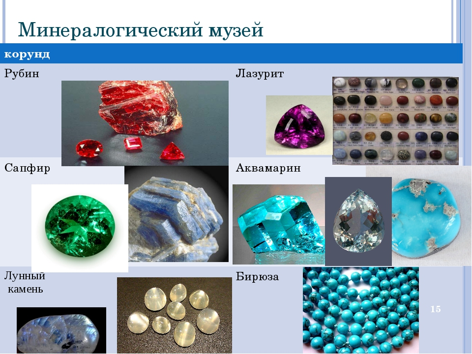 Минералогический музей * корунд Рубин  Лазурит Сапфир Аквамарин  Лунны...