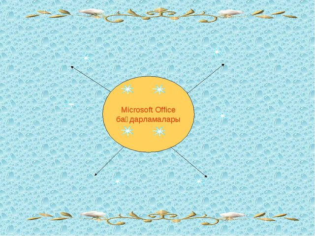 Microsoft Office бағдарламалары