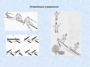 Подводящие упражнения