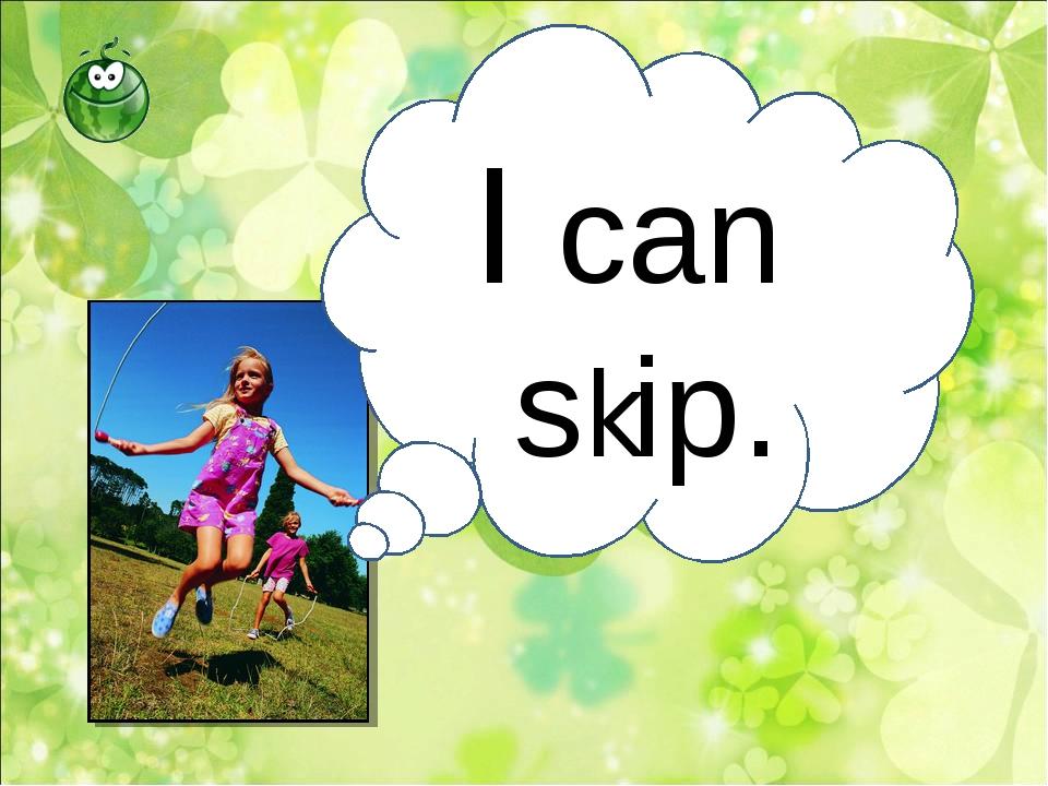 I can skip.