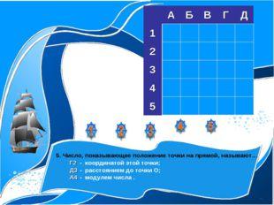 1. Числа, используемые при счете предметов называют… Б2- десятичными дробям