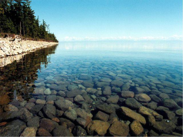 Самое глубокое озеро… Байкал