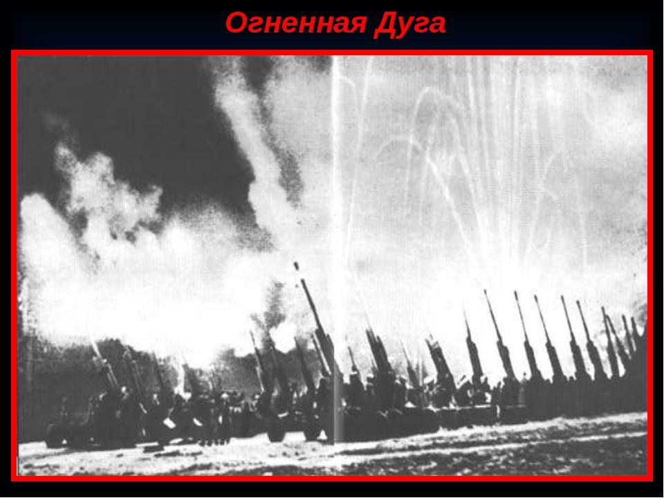 Огненная Дуга Курская битва (5 июля 1943 — 23 августа 1943, также известна ка...
