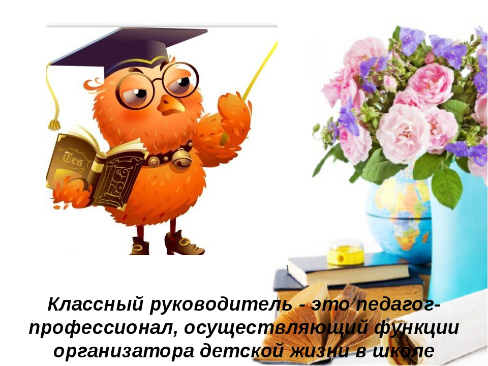 Классный руководитель -это педагог-профессионал, осуществляющий функции орг...