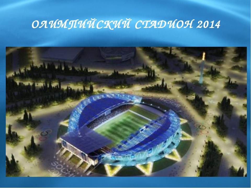 ОЛИМПИЙСКИЙ СТАДИОН 2014