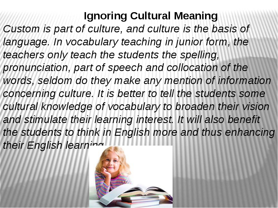 cultural meaning
