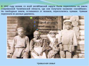 В 1842 году казаки со всей нагайбакской округи были переселены на земли совре