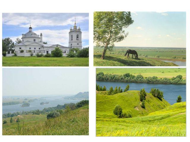 Пред вами старинное село Константиново. Здесь 120 лет назад 3 октября 1895г....