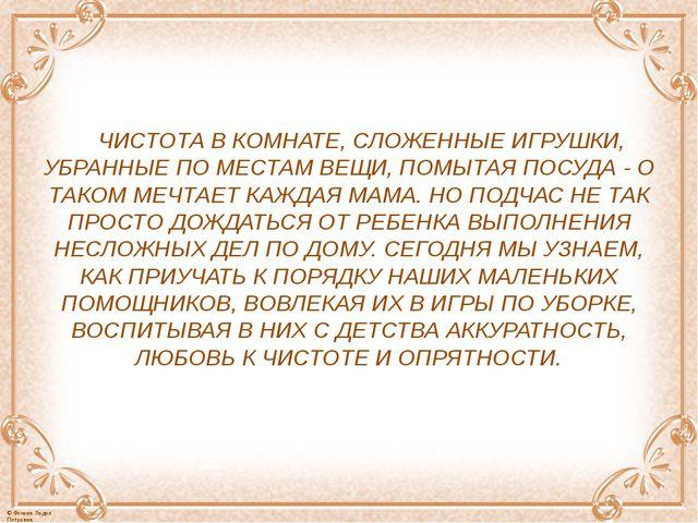 ЧИСТОТА В КОМНАТЕ, СЛОЖЕННЫЕ ИГРУШКИ, УБРАННЫЕ ПО МЕСТАМ ВЕЩИ, ПОМЫТАЯ ПОСУ...