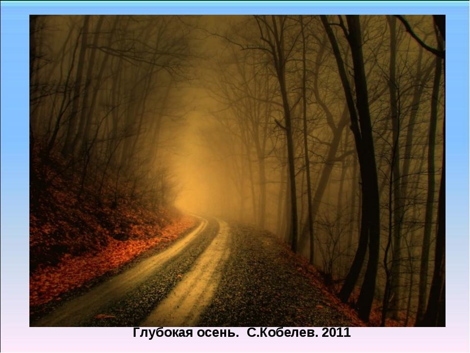 Глубокая осень. С.Кобелев. 2011